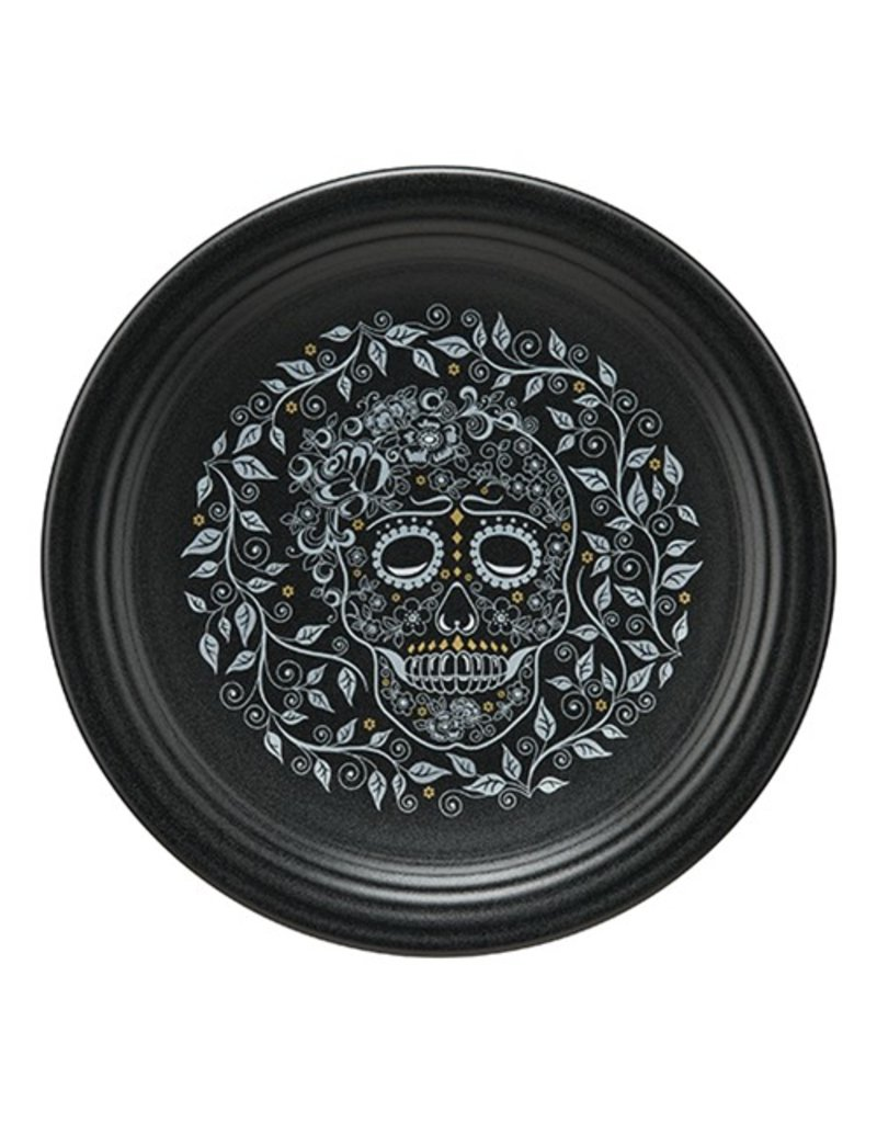 Chop Plate Skull and Vine