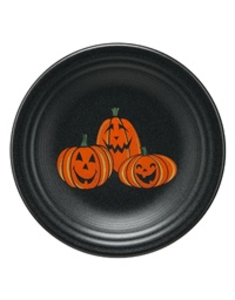 Luncheon Plate Halloween Happy Pumpkins