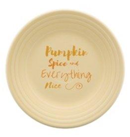 Luncheon Plate Halloween Pumpkin Spice