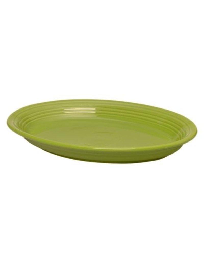 """Large Oval Platter 13 5/8"""" Lemongrass"""