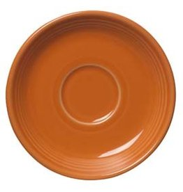 "Saucer 5 7/8"" Tangerine"