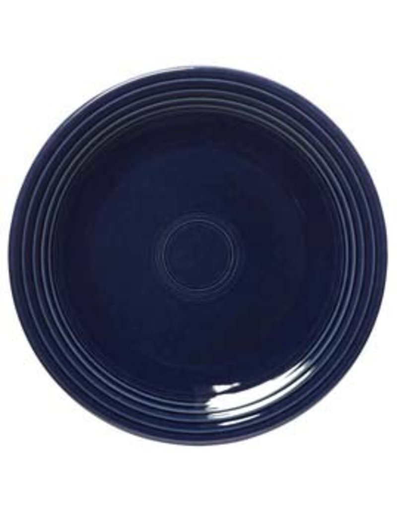 """Chop Plate 11 3/4"""" Cobalt Blue"""