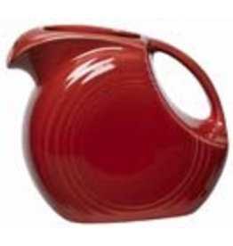 Large Disc Pitcher 67 1/4 oz Scarlet
