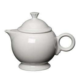 The Homer Laughlin China Company Covered Teapot White