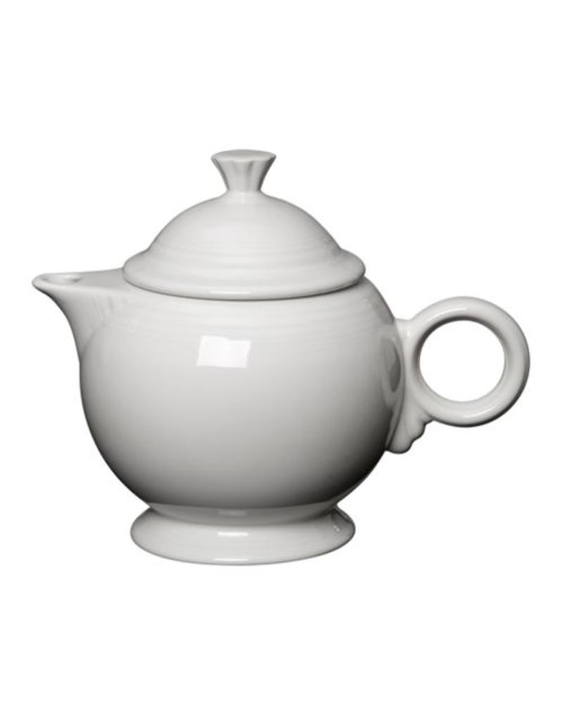 Covered Teapot White