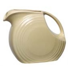 Large Disc Pitcher 67 1/4 oz Ivory