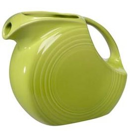 Large Disc Pitcher 67 1/4 oz Lemongrass