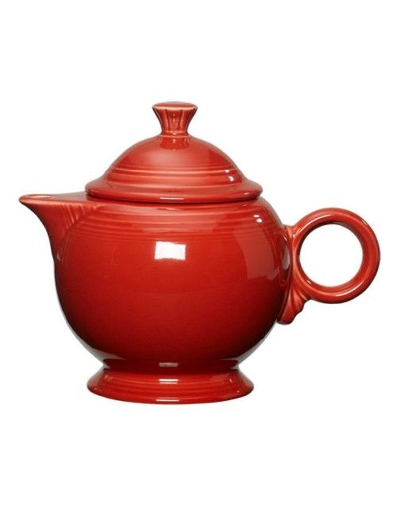 Covered Teapot Scarlet
