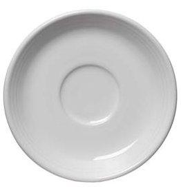 "Saucer 5 7/8"" White"