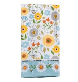 Garden Bee Terry Towel