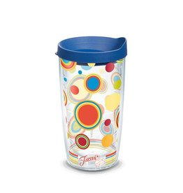 Tervis Poppy Dots 16 oz Tumbler with Lid