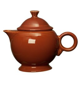 Covered Teapot Paprika