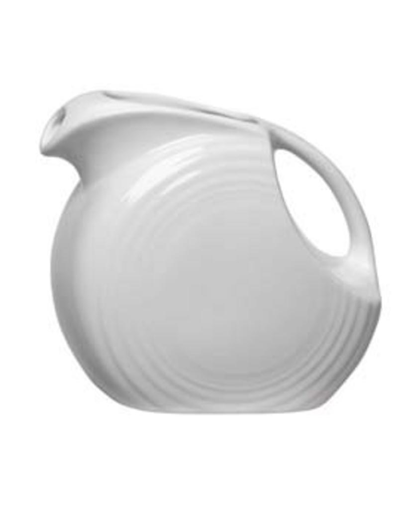 Large Disc Pitcher 67 1/4 oz White
