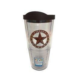 Tervis Texas Star 24 oz Tumbler w/lid