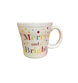 Tapered Mug 15 oz Merry and Bright