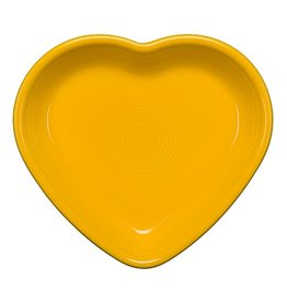 Medium Heart Bowl 17 oz Daffodil