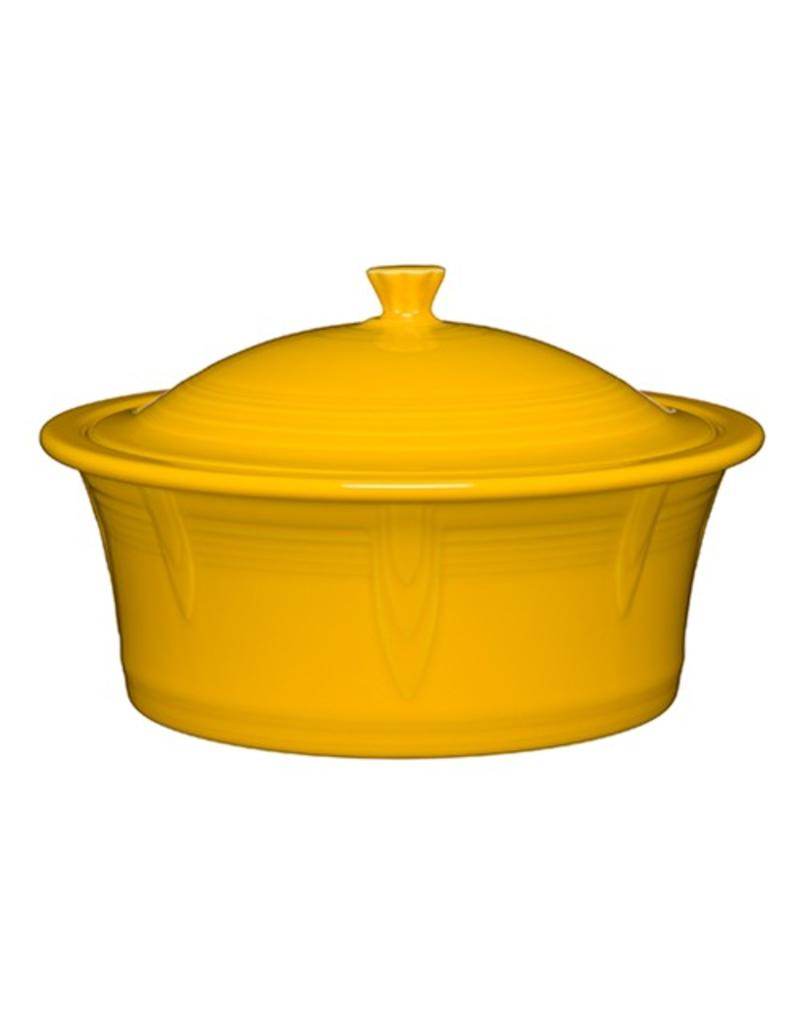 Large Covered Casserole 90 oz Daffodil