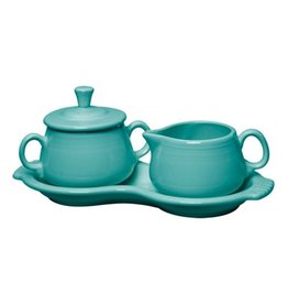 Sugar Cream Tray Set Turquoise