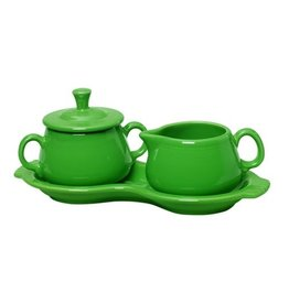 Sugar Cream Tray Set Shamrock