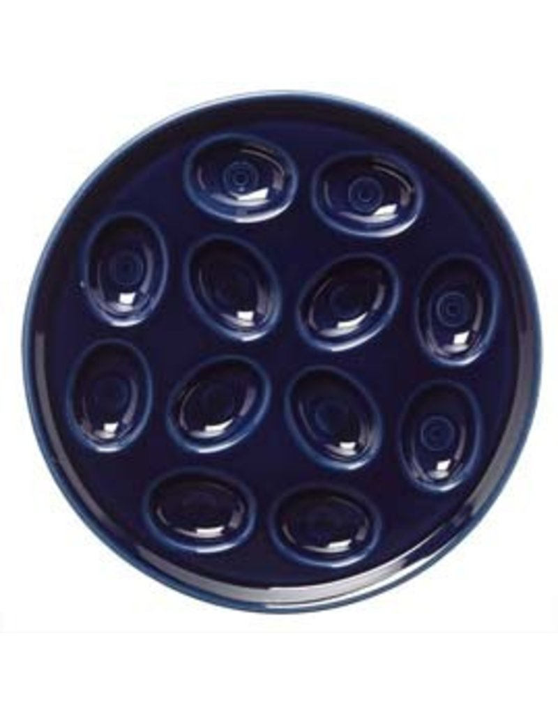 Egg Tray Cobalt Blue