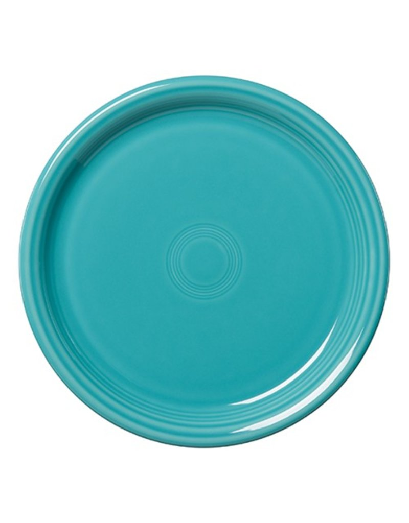 """Bistro Dinner Plate 10 1/2"""" Turquoise"""