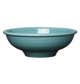 """Pedestal Bowl 9 7/8"""" Turquoise"""