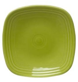 "Square Dinner Plate 10 3/4"" Lemongrass"