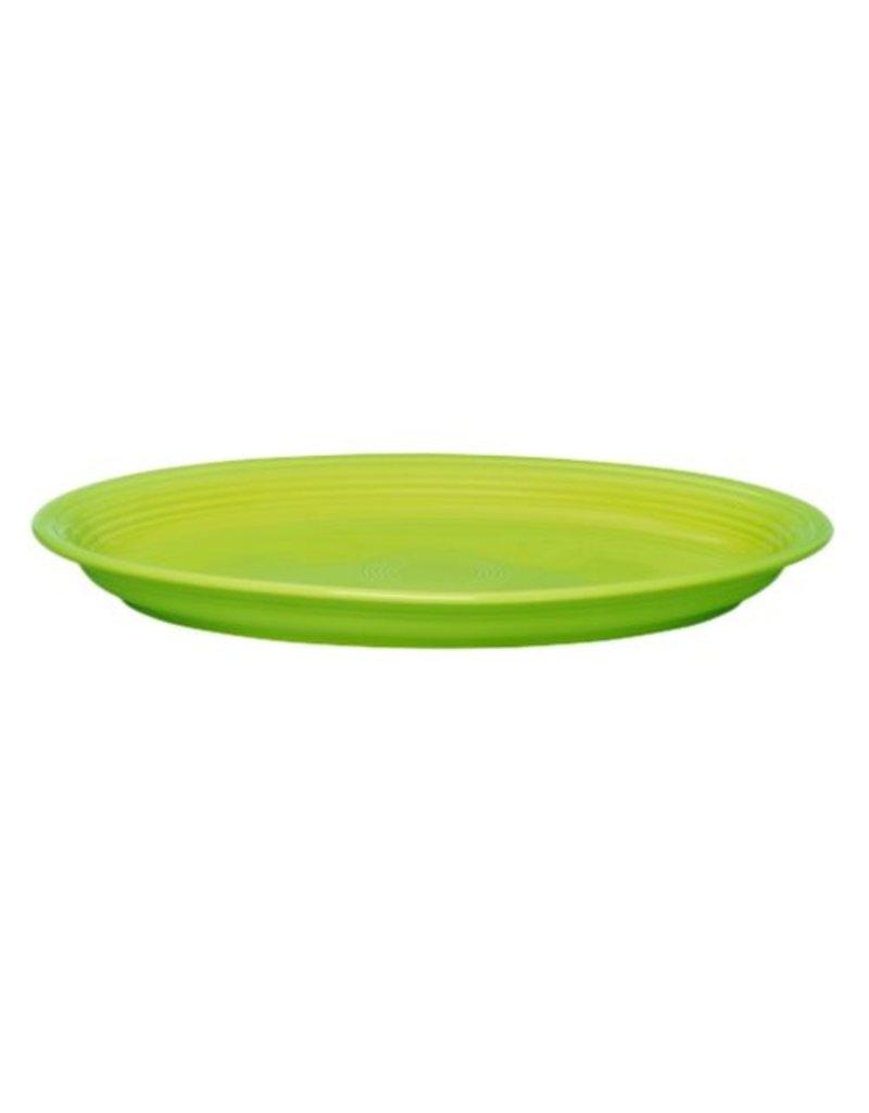 "Extra Large Oval Platter 19 1/4"" Lemongrass"