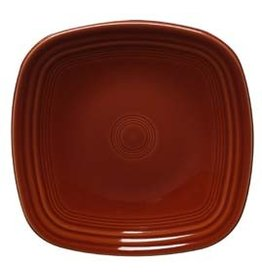 "Square Dinner Plate 10 3/4"" Paprika"