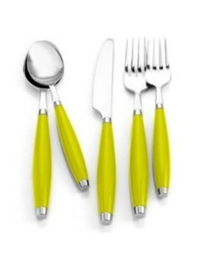5 pc Flatware Lemongrass
