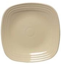 "Square Salad Plate 7 1/2"" Ivory"