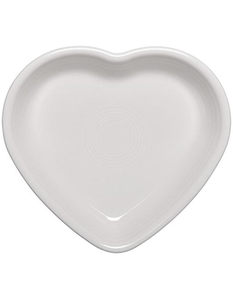 Small Heart Bowl White