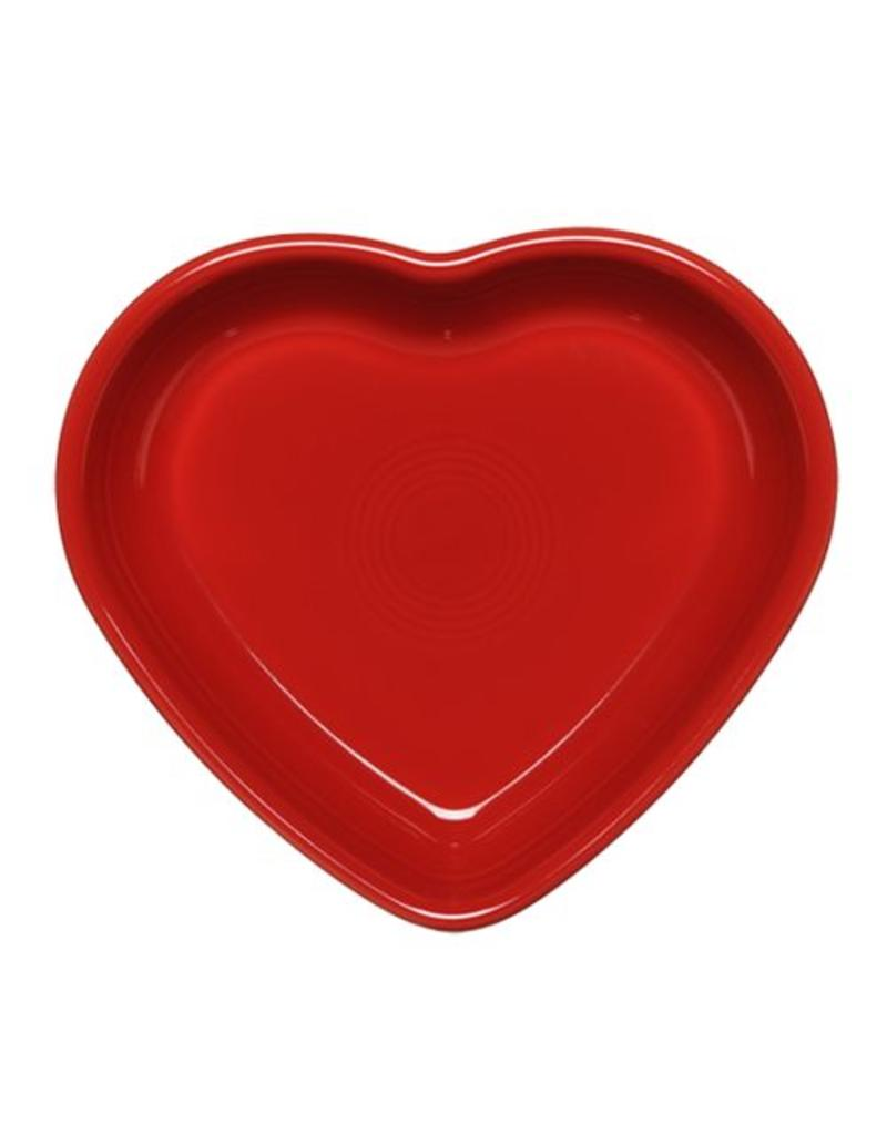 Medium Heart Bowl 19 oz Scarlet