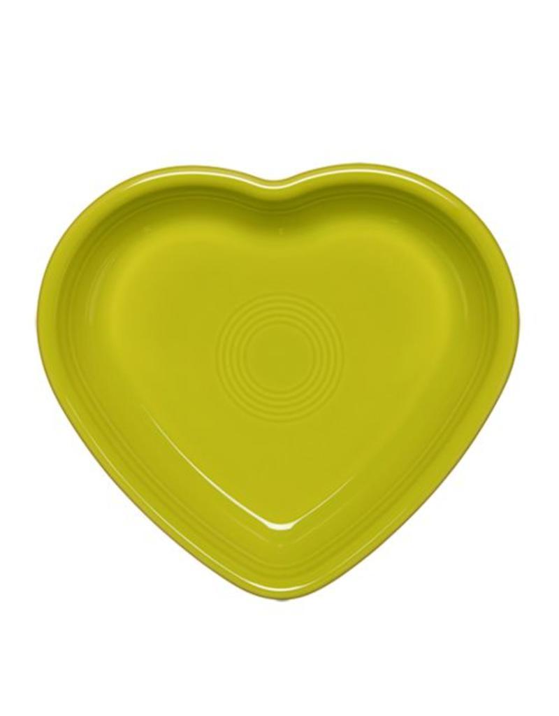 Medium Heart Bowl 19 oz Lemongrass