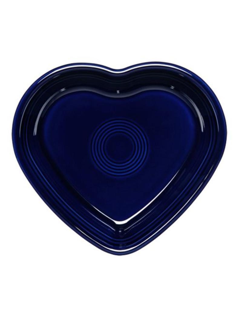 Medium Heart Bowl 19 oz Cobalt Blue