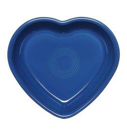 Medium Heart Bowl 19 oz Lapis