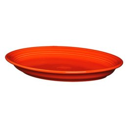 "Large Oval Platter 13 5/8"" Poppy"