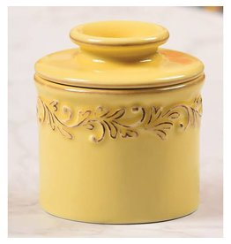 Butter Bell Crock Antique Goldenrod