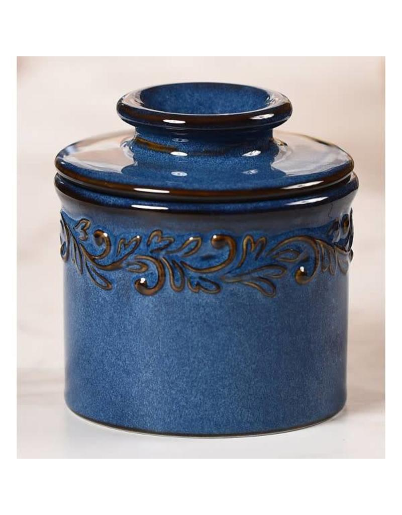 Butter Bell Crock Antique Denim Blue
