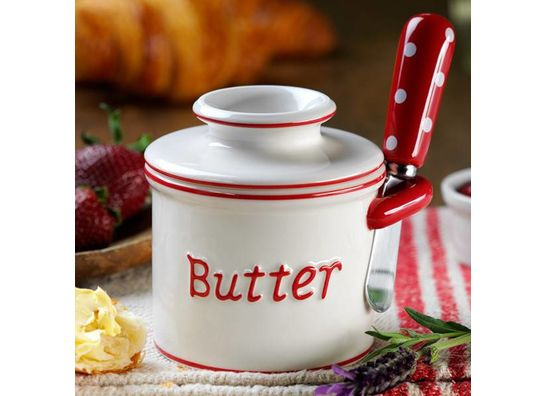 The Butter Bell® Crocks