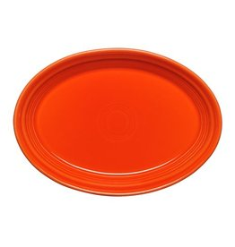 "Small Oval Platter 9 5/8"" Poppy"