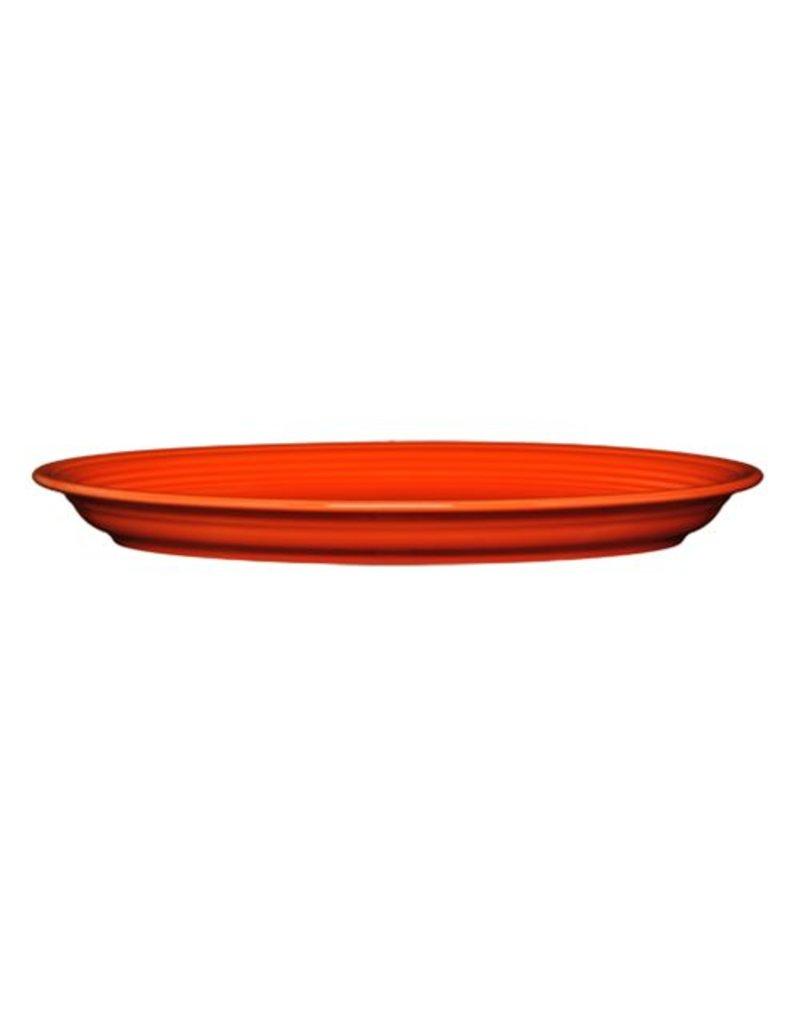 "Extra Large Oval Platter 19 1/4"" Poppy"