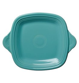 Square Handled Tray Turquoise