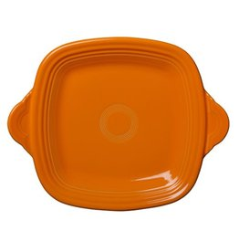 Square Handled Tray Tangerine