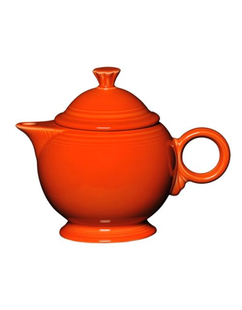 Covered Teapot Poppy