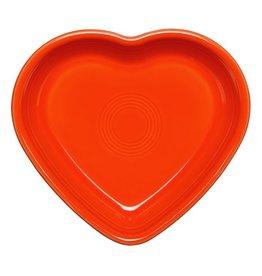 Medium Heart Bowl 19 oz Poppy