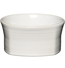 Square Bowl 19 oz White