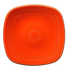 "Square Luncheon Plate 9 1/4"" Poppy"