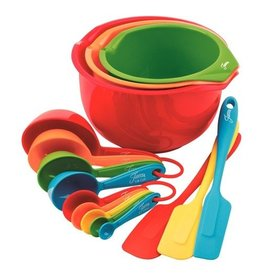 15 pc Fiesta Prep and Serve Set