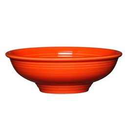 "Pedestal Bowl 9 7/8"" Poppy"